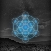 Metatrons-Cube-Blue-Desert-iOS-7-4Wallpaper